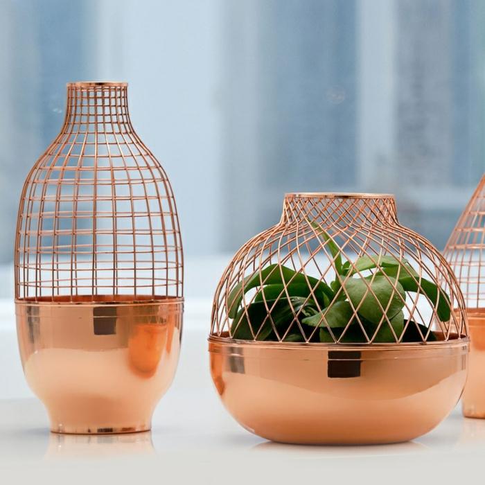 ausgefallene möbel designer Jaime Hayon vasen kupfer