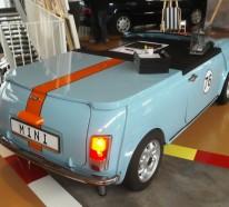 Der etwas andere Möbeldesigner und seine DIY Möbel aus Autoteilen