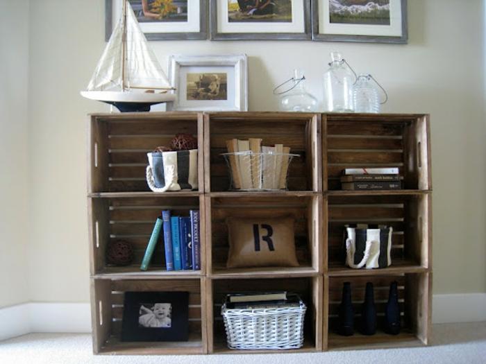Bücherregal kreativ  Ein Bücherregal kann auch sehr kreativ sein