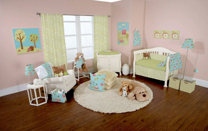 How To Create A Gender Neutral Baby Nursery. Teppich Babyzimmer