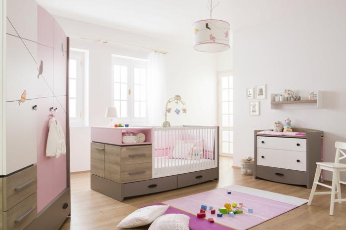 Awesome Kinderzimmergestaltung Babyzimmer Stilvoll Reizvoll Schöne Farbkombination
