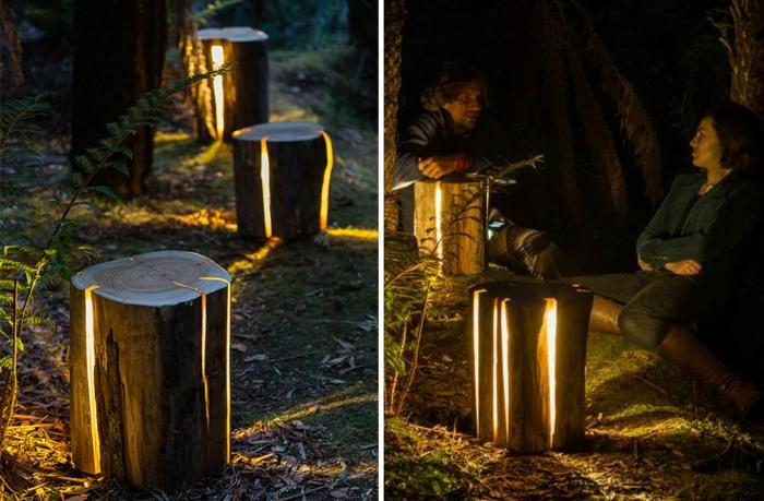 Baumstamm M 246 Bel Ausgefallene Designer Leuchten Von Duncan