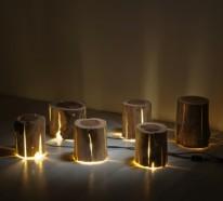 Baumstamm Möbel Ausgefallene Designer Leuchten Von Duncan Meerding