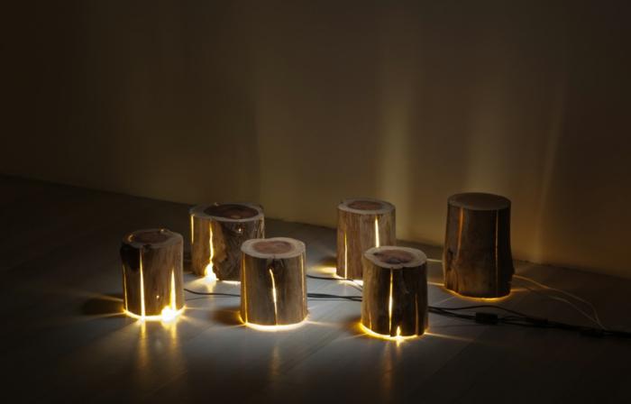 baumstamm m bel ausgefallene designer leuchten von duncan meerding. Black Bedroom Furniture Sets. Home Design Ideas