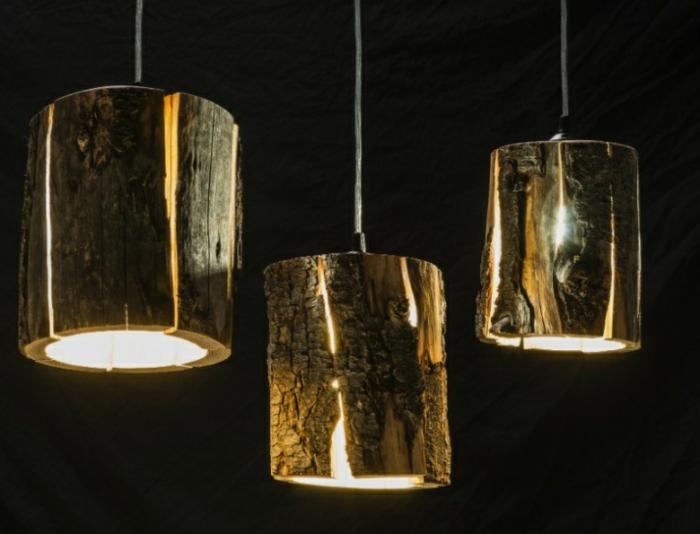 baumstamm m bel ausgefallene designer leuchten von duncan. Black Bedroom Furniture Sets. Home Design Ideas