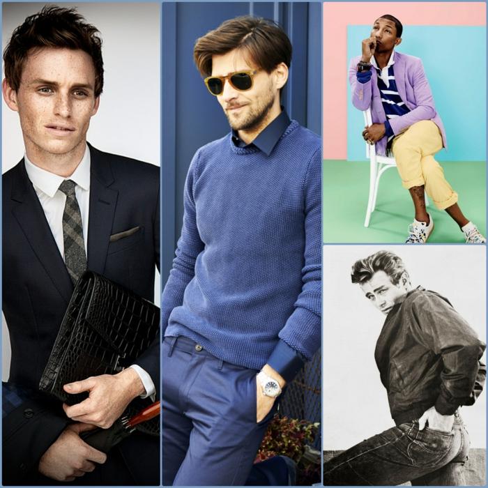 berühmte modebewusste männer styling tipps männer