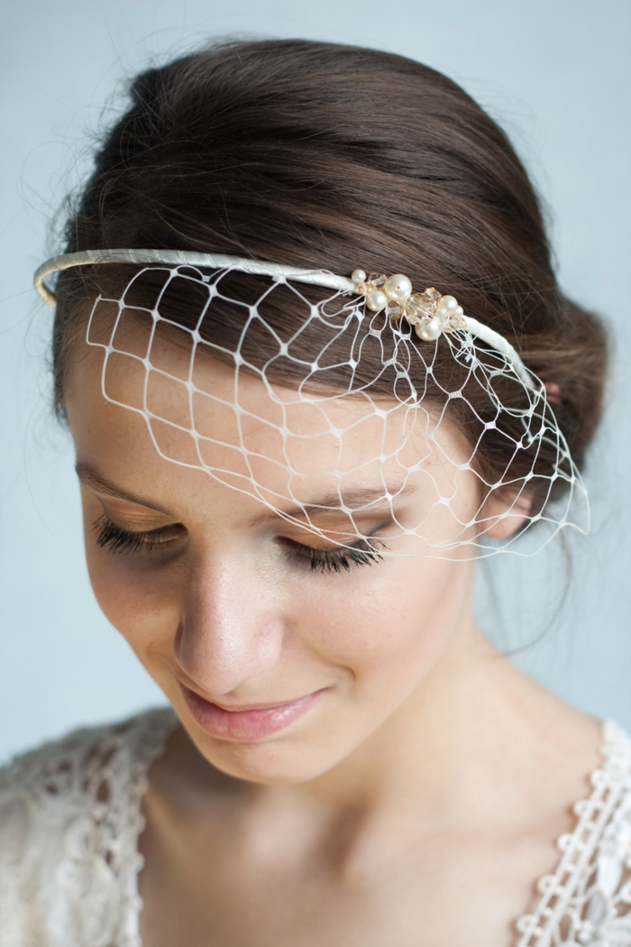 brauthaarschmuck brautmode brautfrisuren haarband