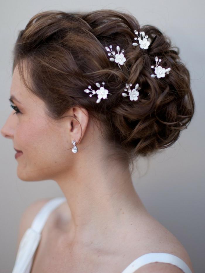 Braut haarschmuck  30 Brauthaarschmuck Ideen für eine charmante Hochzeitsfrisur