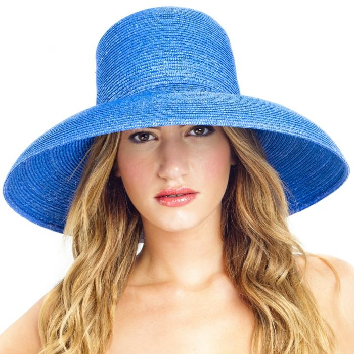 damenhüte sommerhut strohhut ovales gesicht glockenförmig