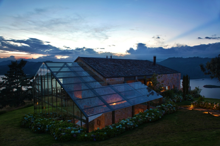 designer häuser kolumbien glas terrasse traumhaus designer