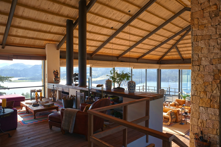 traumhaus designer projekt mitten in der wilden natur von kolumbien. Black Bedroom Furniture Sets. Home Design Ideas