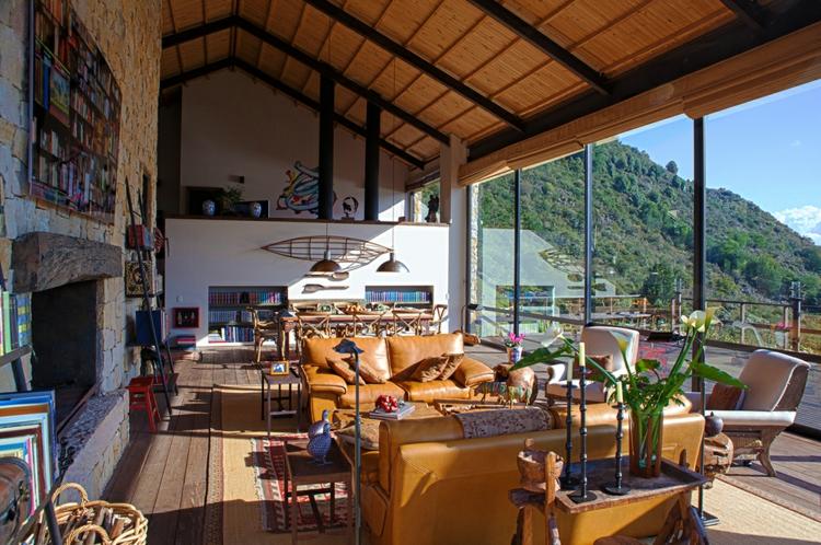 Traumhaus inneneinrichtung  Traumhaus Designer Projekt mitten in der wilden Natur von Kolumbien