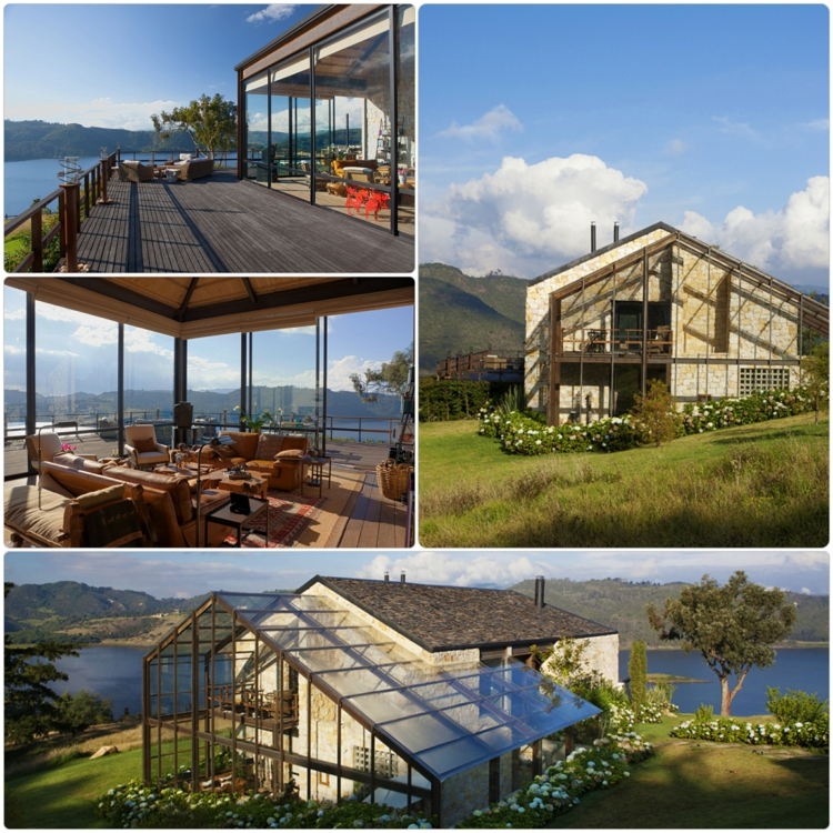 designer häuser kolumbien natur rustikal traumhaus designer