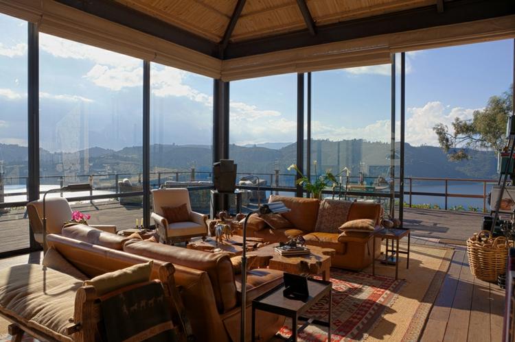 designer häuser kolumbien terrasse holz und glas traumhaus designer