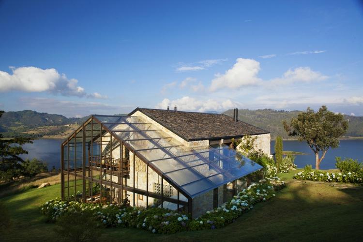 designer häuser nachhaltig bauen stein glas traumhaus designer