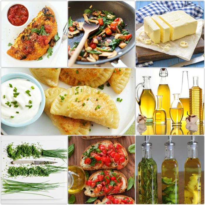 einfache gerichte kochen und wenig fett dabei gebrauchen