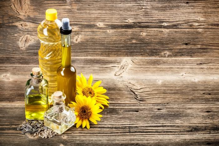 einfache gerichte kochen sonnenblumenöl und olivenöl mischen
