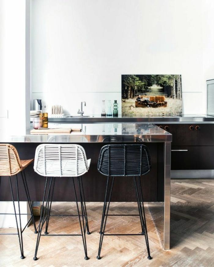 einrichtungsideen küchengestaltung moderne küche tolle kücheninsel