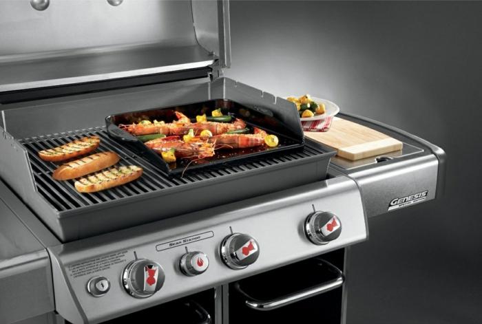 elektrischer grill funktionaler herd küche geräte