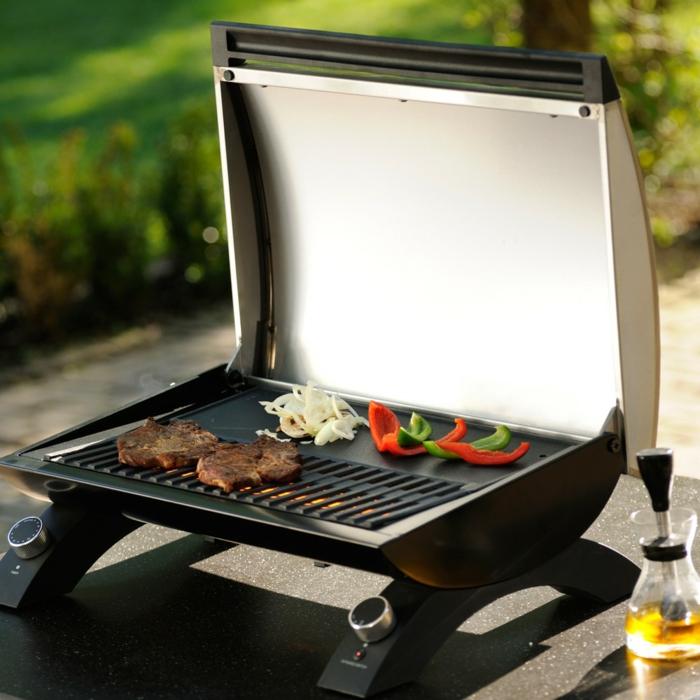 elektrogrill modell aussuchen praktischer grill