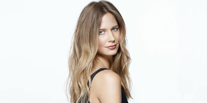 frauenfrisuren langes haar blond boho wellen