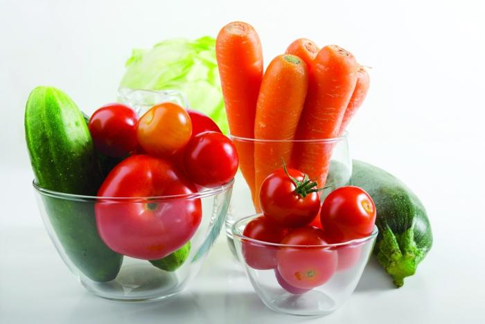 frisches gemüse gemüsegarten anlegen gesundes essen