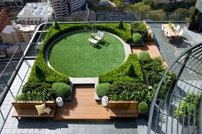 Garten Gestaltung Kreative Gartenideen Moderne Dachterrasse