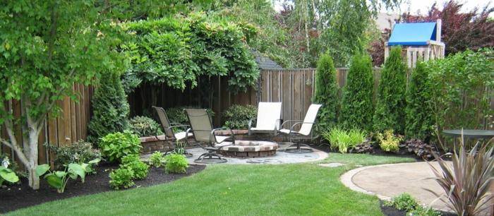 Den garten versch nern und nach feng shui gestalten for Gorgeous small backyards