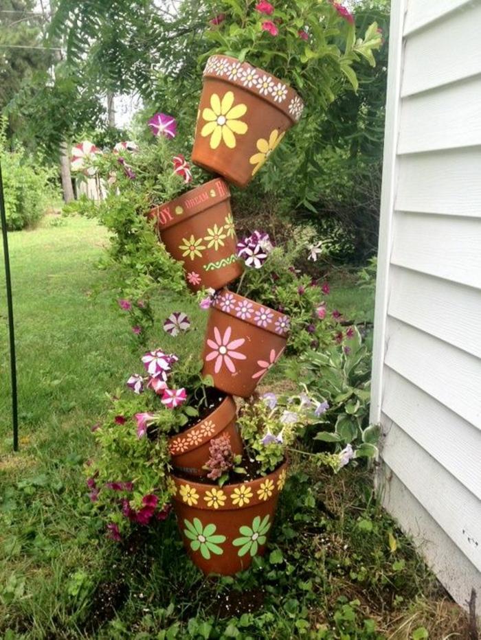 Gartendeko basteln den garten originell dekorieren for Gartendeko ideen