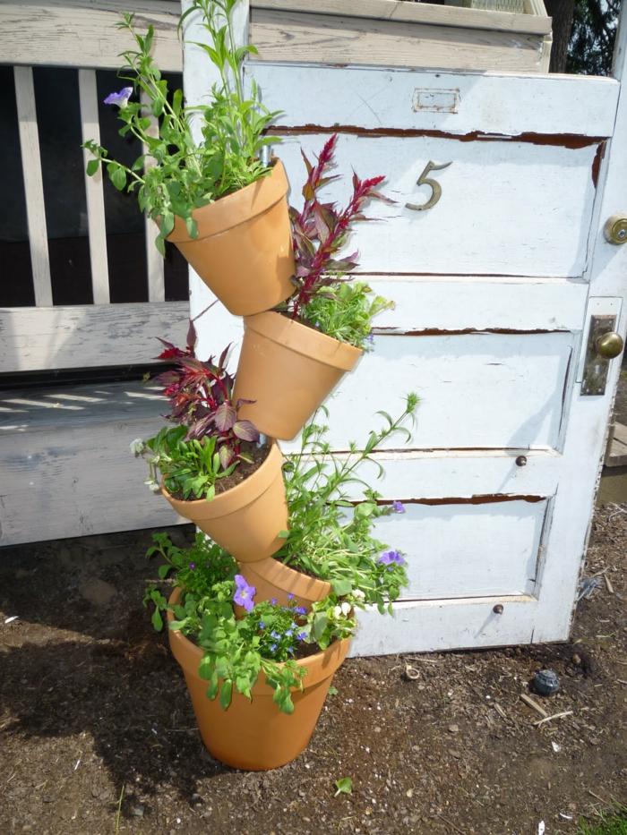Deko garten basteln  Gartendeko basteln - Den Garten originell dekorieren