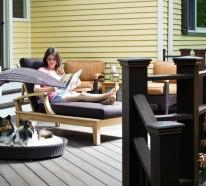 Gartenliege im Außenbereich – Gestalten Sie eine coole Erholungsecke!