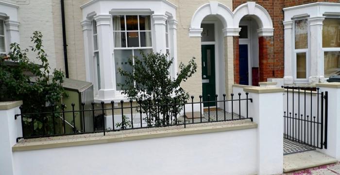 Gartenz une aus metall bringen mehr stil in den au enbereich - Design gartenzaun ...