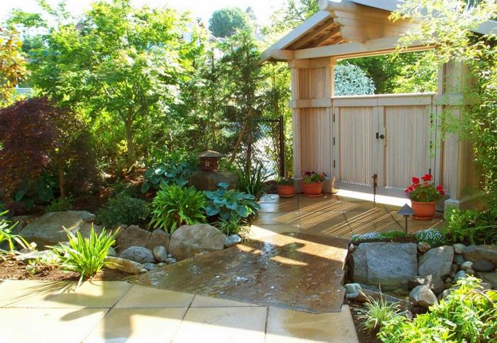 Den Garten Versch Nern Und Nach Feng Shui Gestalten