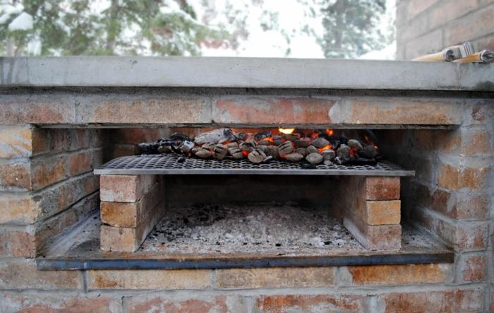 Gemauerter grill wollen sie diesen selber bauen for Smoker selber bauen