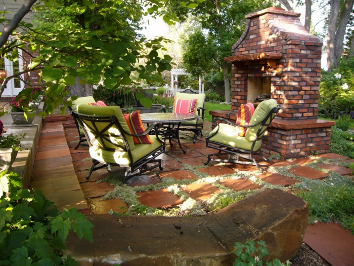 30 Inexpensive Decorating Ideas: Gartenkamin Oder Offene Feuerstelle