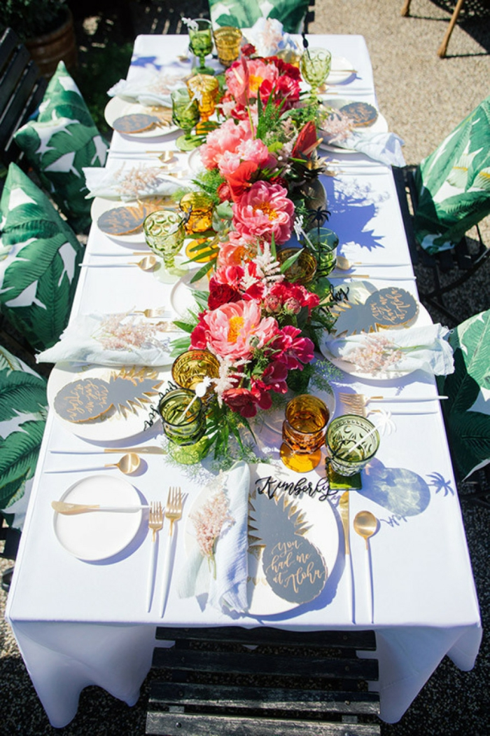 Organisieren sie ihre ganz spezielle gartenparty im sommer for Patio table centerpiece ideas