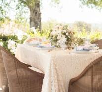 Organisieren Sie Ihre ganz spezielle Gartenparty im Sommer!