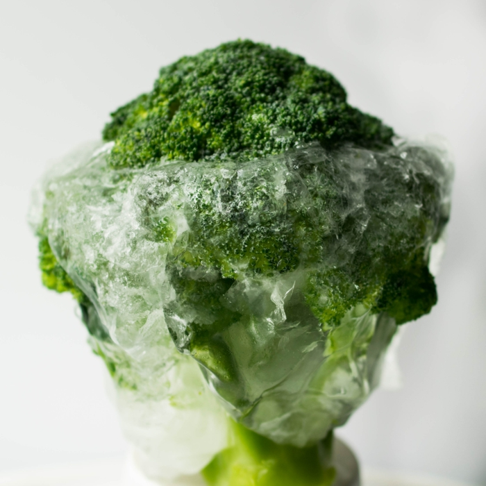 gefrorenes gemüse in tüte aufbewahen brokkoli