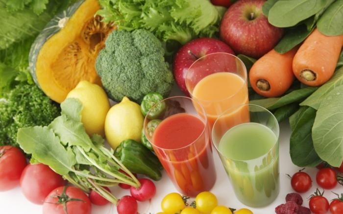 gemüsegarten anlegen tipps gemüsesaft hausgemacht bio gemüse