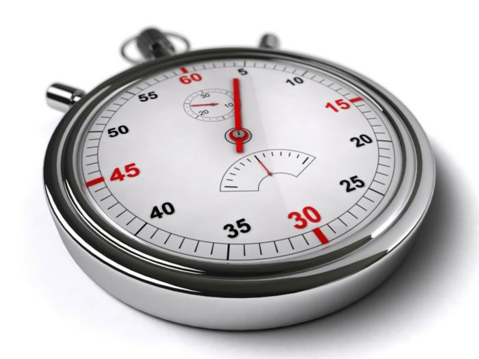 gesundes abnehmen Chronometer benutzen lifestyle