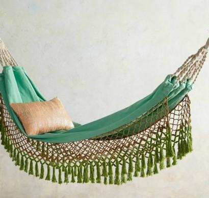 Hängematte Im Garten Oder Im Wohnraum: Ihre Entspannung Ist Garantiert Gemutliche Hangematte Fur Den Garten Zum Entspannen