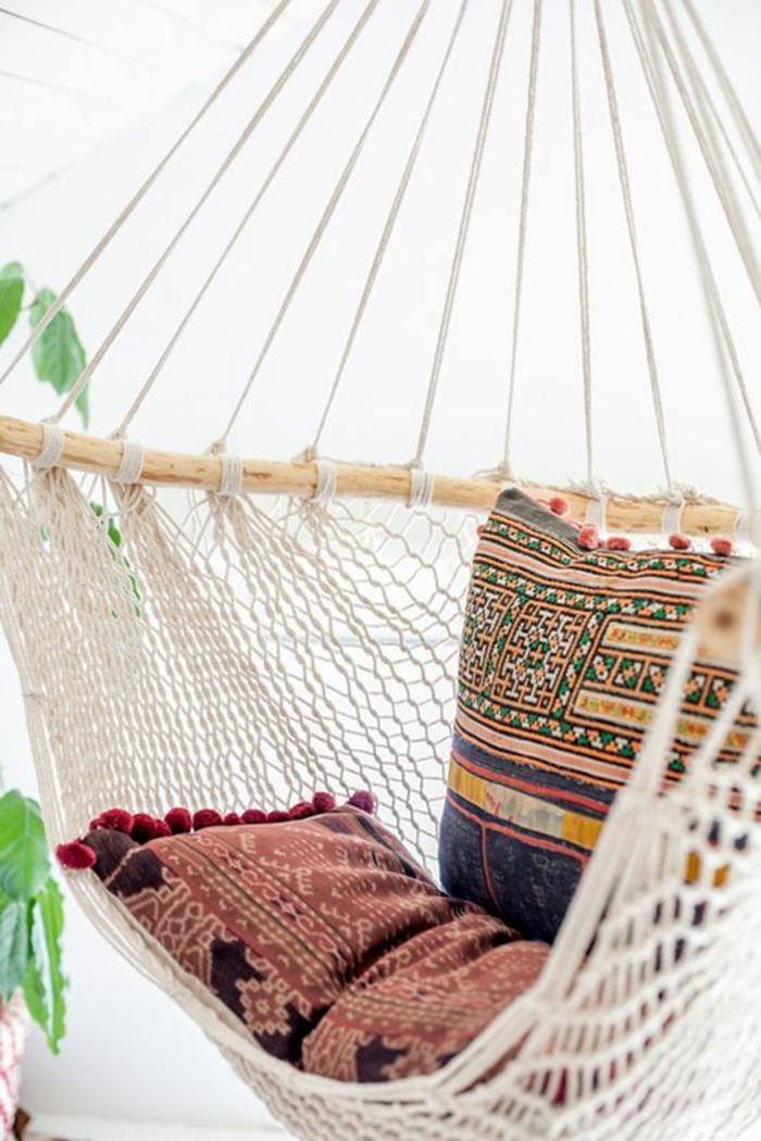 hängematte garten hängesessel entspannungsecke gestalten
