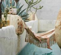 Hängematte im Garten oder im Wohnraum: Ihre Entspannung ist garantiert