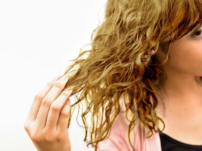 haarpflege tipps strapaziertes haar haarmaske selber machen