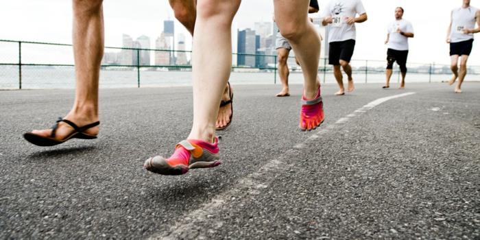 hobby barfuß barfuß laufen neue sportarten