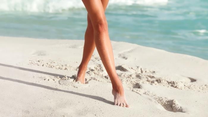 hobby barfuß barfuß laufen sand