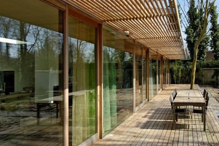 holz veranda bauen diy projekte aus holz
