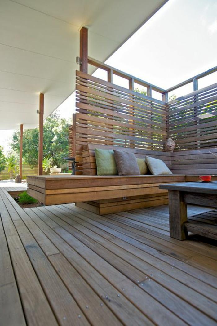 holz veranda bauen holzart auswählen terrassengestaltung