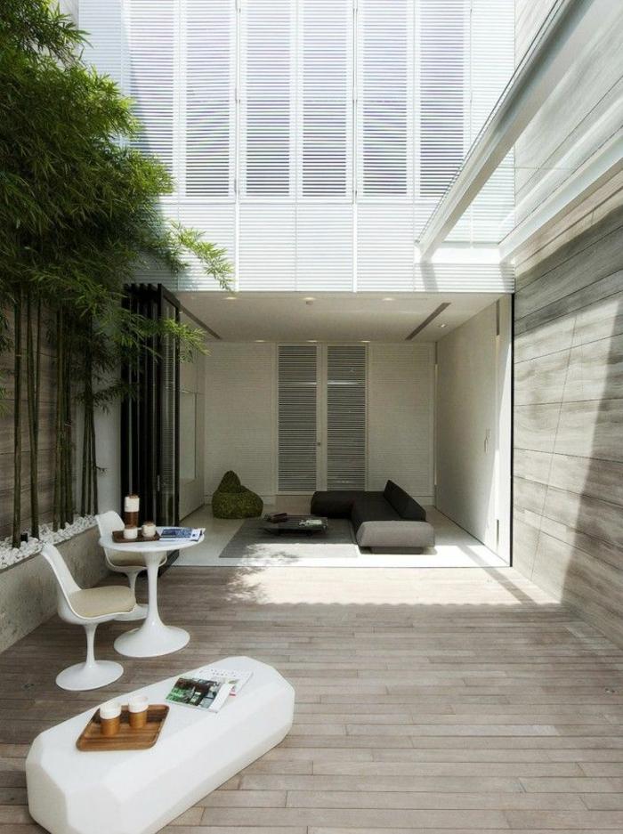 holz veranda bauen und modern gestalten