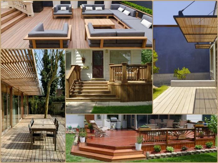 veranda bauen. Black Bedroom Furniture Sets. Home Design Ideas